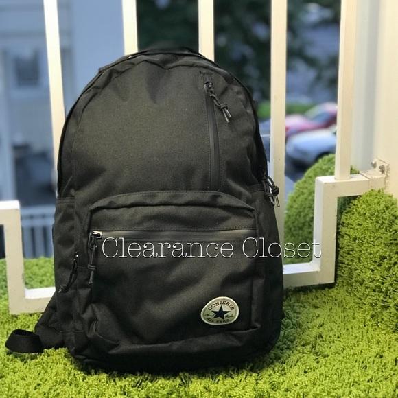 Converse Bags | Nwt Converse Go Sport Backpack Black Unisex | Poshmark